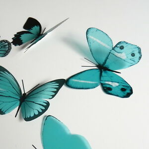 25-Pack-Butterflies-Tiffany-Blue-5-to-6-cm-Cakes-Weddings-Crafts-Cards