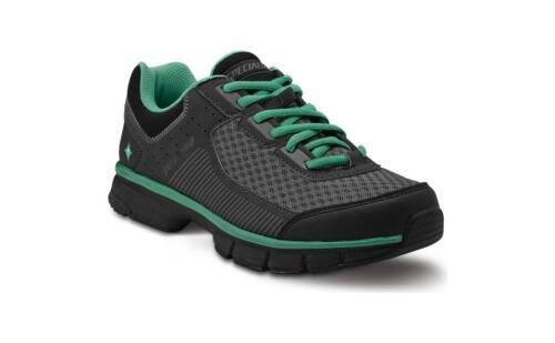 SPECIALIZED CADETTE pour femme Noir//vert 38 Taille 7.25 Loisirs Chaussures pour le cyclisme