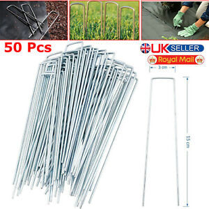 Sandbaggy 1000 Pack RUST FREE Landscape Staples~ 6 Inch SOD Garden Stakes Pins