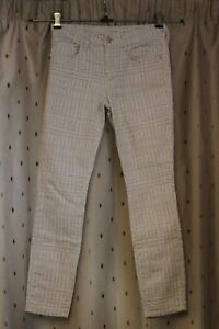 Pilcro-and-the-Letterpress-Anthologie-White-Floral-Stretch-Jeans-Size-28-UK10
