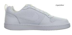 Nike-Men-039-s-034-Court-Borough-Low-034-White-Skateboard-Shoes-Size-14-New