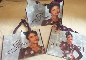 SET-OF-3-BAGS-Selena-Quintanilla-Tote-Bag-HEB-Limited-Edition-2018-Simpre-NEW