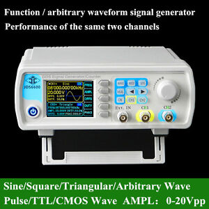 JDS6600-15MHz-Dual-Channel-Arbitrary-Waveform-DDS-Signal-Generator-SWEEP