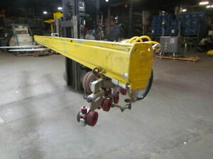 Royal-ARC-Unified-Overhead-Crane-Rail-18-039-Section-w-1000-Capacity-Trolleys