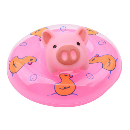 10 Pcs//Set Rubber Pig Baby Bath Toy for Kids Baby Bathroom Shower Toys MA