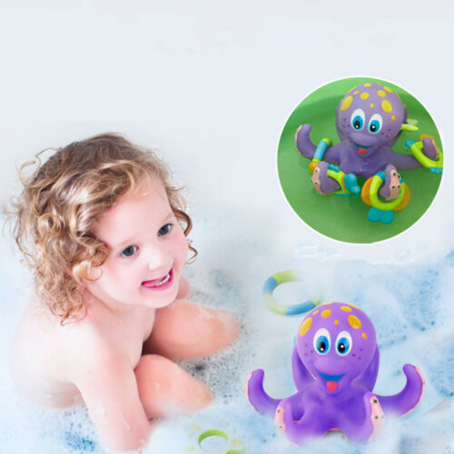 Baby Bath Toys Kids Bathtub Toy Octopus Pool Water Floating Fun Play