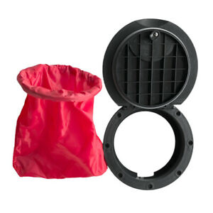 "New 8/"" Deck Plate Boat Kayak Canoe Storage Bag Cover Kit Hatch HOT Bag Cover TW"