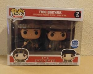 Funko-Pop-Movies-The-Lost-Boys-Frog-Brothers-2-pack-Exclusive-In-Hand