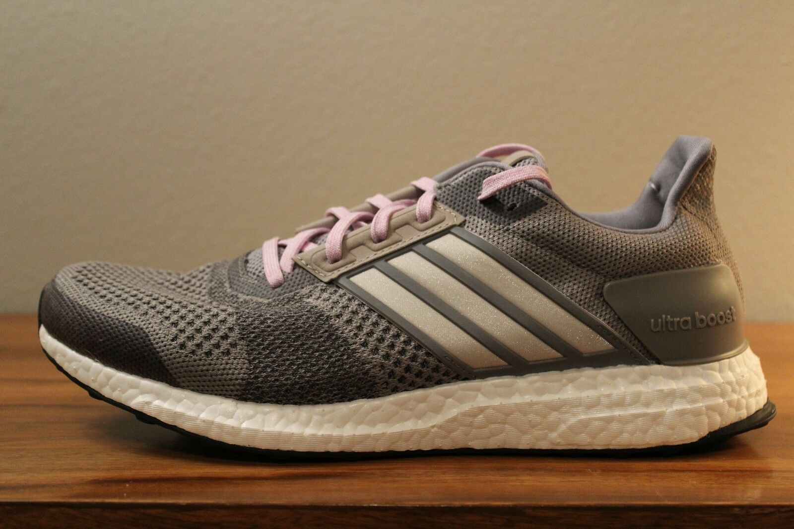 13 New Rare Adidas Ultra Boost ST Women's Running shoes Grey Sizes 9.5 AF6524