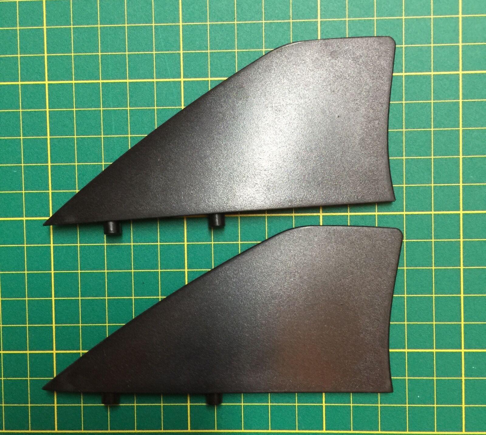 Inland Surfer ABS Delta 6.0 - 4 skim Fin Set (2 fins)