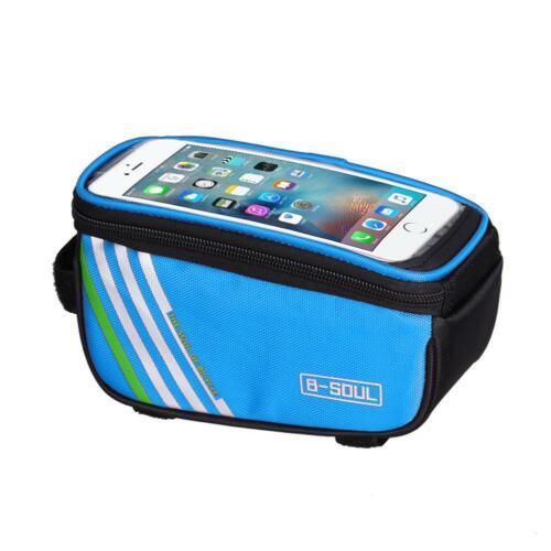 Bicycle Cycling Bike Frame Front Tube Waterproof Mobile Phone Bag  5.0inch Bag