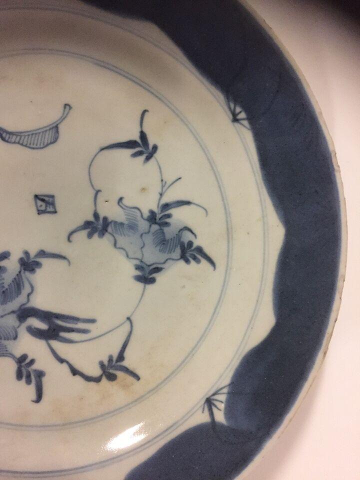 Antik kinesisk tallerken