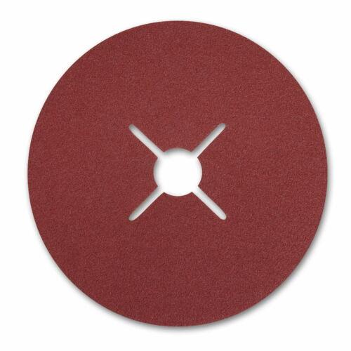 P150 wählbar Starcke Fiberscheiben Schleifscheiben 4 Schlitz 180 mm P16