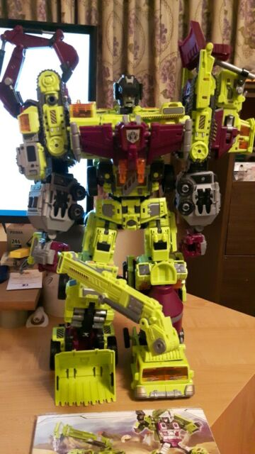 NBK Devastator Transformation Toy Oversized Action Figure