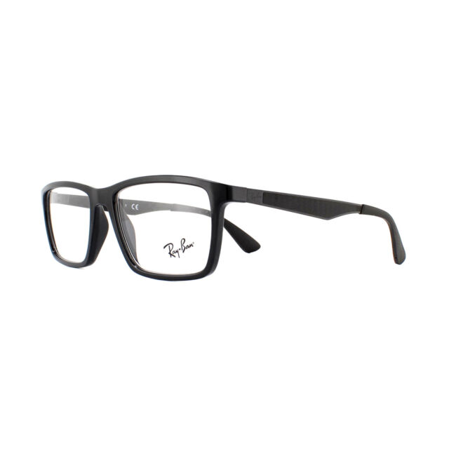 5798cdbdb1f1 Ray-Ban Rx7056 2000 53mm Shiny Black Eyeglasses for sale online