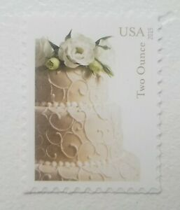 US-Scott-5000-2015-Wedding-Cake-Forever-2-Oz-Stamp-Single-MNH