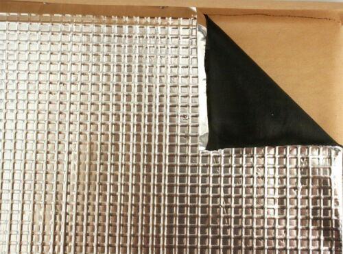 9 Hojas STP001 Estera Hush approx. 3.34 m² Southern Varillas Amortiguador De Sonido Aislamiento Kit 36 ft²