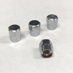 Valve-stems-caps-chrome-Hex-set-of-4