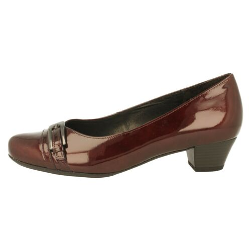 GABOR dames cour chaussures 92.143.98 merlot brevet Enfiler
