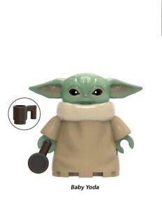 YODA-BABY-CUTE-LeGo-MOC-MOVIE-Star-Wars-2020-MANDALORIAN-JANGO-FETT-HOT-BRICK