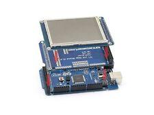 Arduino Mega 2560 R3 Rev3 + LCD TFT 3.2'' touch + lettore Sd reader + adattatore