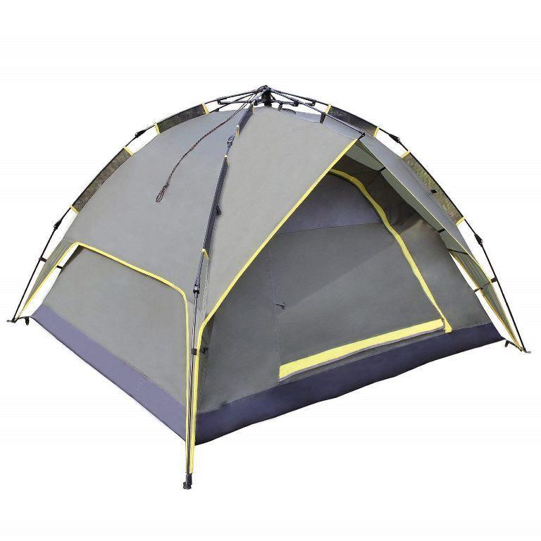 3 Personnen Zelt winddicht wasserdicht UV-Besteändig Strand Camping wandern BC2