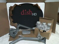 Dish Network Hd Satellite Dish / Western Arc 1000.2 Turbo Fta Pole Hybrid Lnb