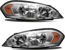 Headlights For 2006 2007 Chevy Monte Carlo 06 13 Chevy Impala Replacement Lr Fits 2006 Impala
