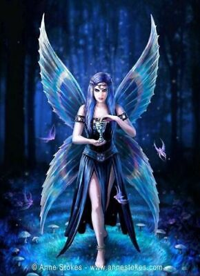 3D CULT FANTASY PICTURE 400mm x 300mm ANNE STOKES MYSTIC AURA FAIRY