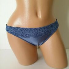 969e2743ce7e item 2 Victoria's Secret Sexy Itsy Mini Panty Floral Lace Blue M -Victoria's  Secret Sexy Itsy Mini Panty Floral Lace Blue M