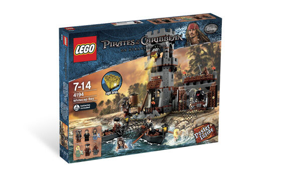 BRAND NEW Lego PIRATES OF CARIBBEAN 4194 WHITECAP BAY