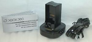 NEW Official Microsoft XBox 360 QUICK CHARGE Kit charger (No Battery)