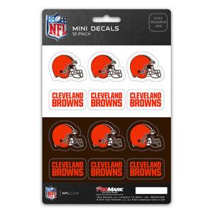 New-NFL-Cleveland-Browns-Die-Cut-Premium-Vinyl-Mini-Decal-Sticker-Pack