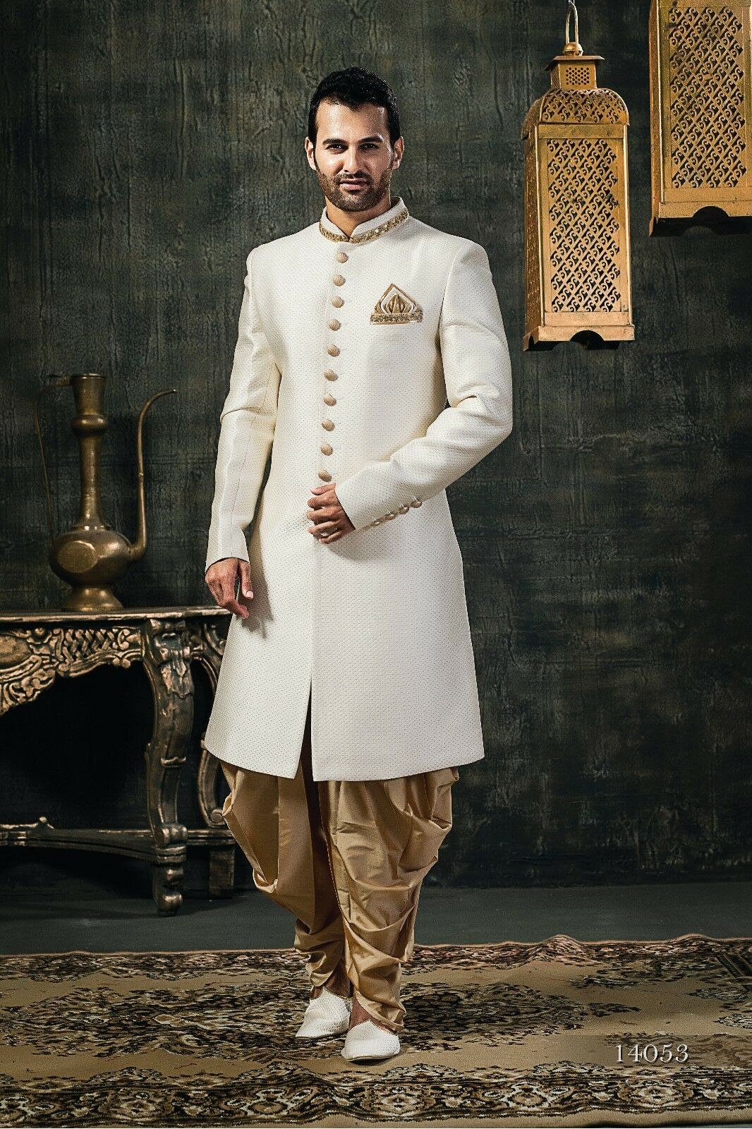 Tathastu Mens Sherwani Kurta Indian Wedding Ethnic Wear