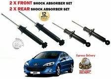 FOR PEUGEOT 407 1.8 2.0 2.2 1.6 HDI 2004-> 2X FRONT + 2X REAR SHOCK ABSORBER SET