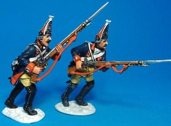 John Jenkins Seven Jahre Krieg 1757 leut-06 Preußische Grenadiere in Anmarsch
