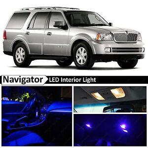 14x Blue Interior Led Lights Package Kit For 2003 2006 Lincoln Navigator