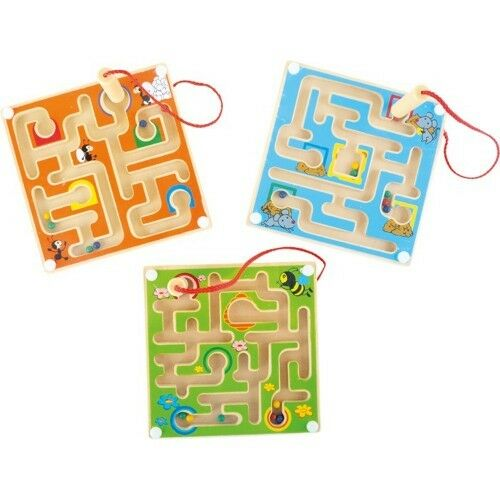 Autism Mini Magnetic Labyrinth Sensory Educational toy for Special Needs ADHD