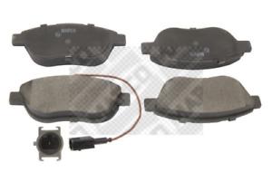 Bremsbelagsatz Scheibenbremse MAPCO 6561 vorne für ABARTH CITROËN FIAT LANCIA