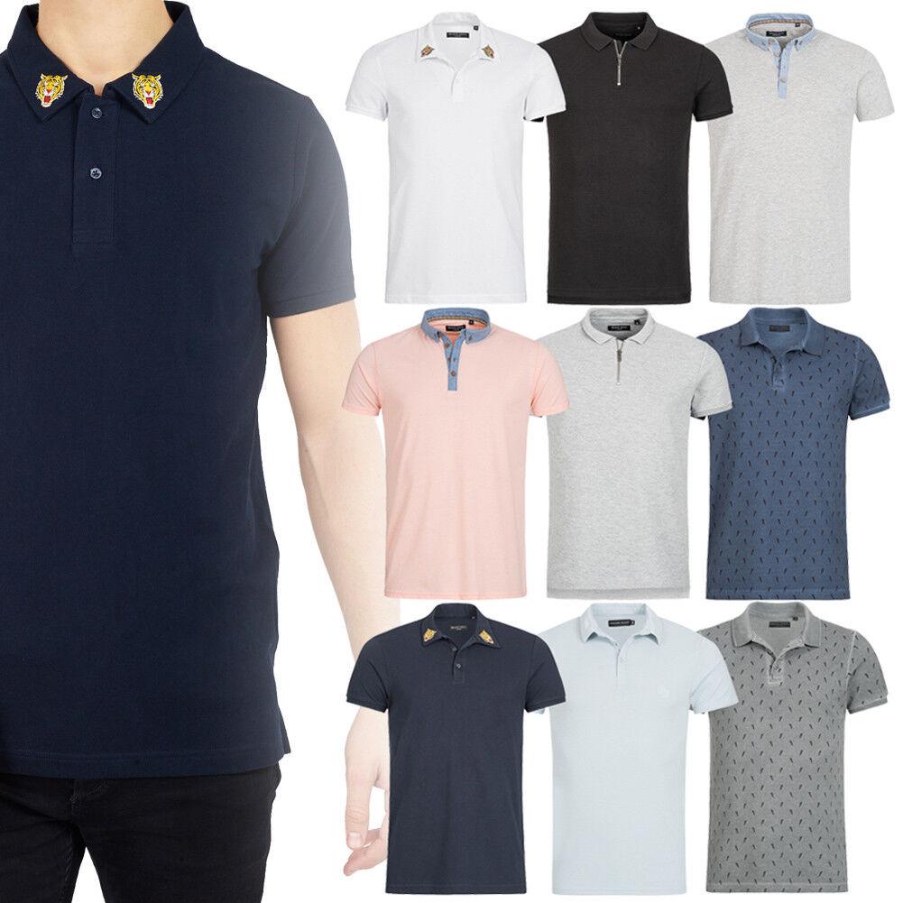 Herren Polo-Shirt Freizeit Kurzarm Poloshirt Polo Hemd S M L XL