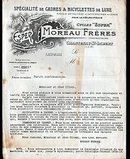 "CHANTENAY-ST-IMBERT (58) USINE de CYCLES & BICYCLETTES ESPER ""MOREAU Freres"""