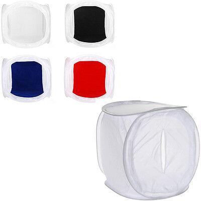 12''-32'' Photo Studio Shooting Tent Light Softbox Cube Box Kit + 4 Backdrops