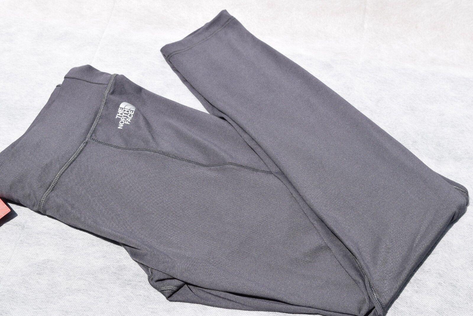 NWT Womens North Face On The Go Leggings RTO Pant sz XS-L Asphalt Grey Slim Fit