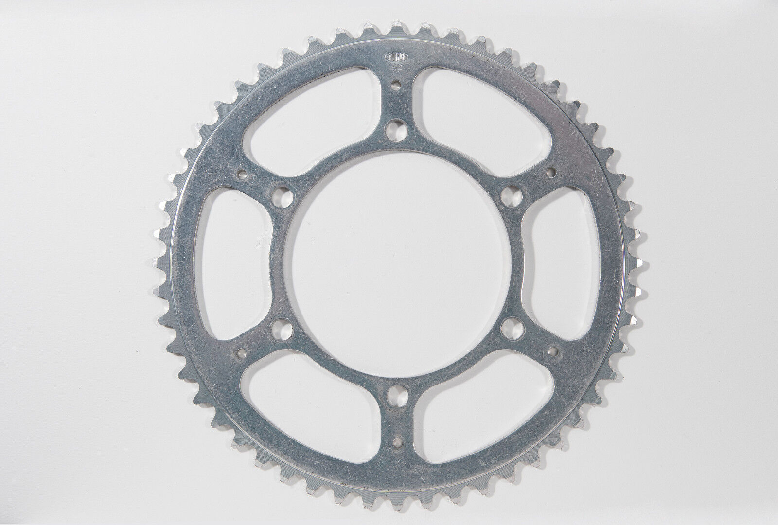 NOS Vintage THC-1B Stronglight 3 6-bolt alloy chainring, 52T, 116BCD, 4.25oz