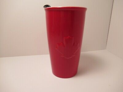 NEW 2020 TIM HORTONS RED MAPLE LEAF CANADA TRAVEL COFFEE ...