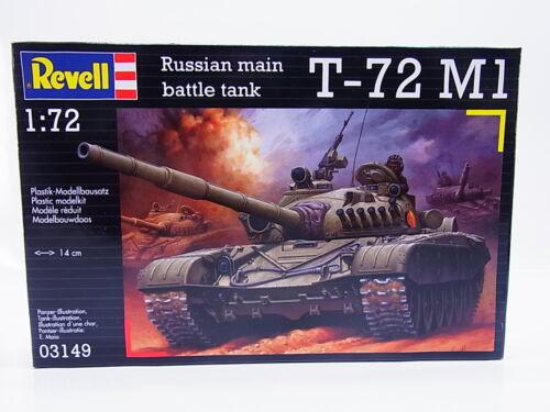 54163 Sonderpreis Revell 03149 T-72 M1 Russian battle tank 1:72 Bausatz NEU OVP