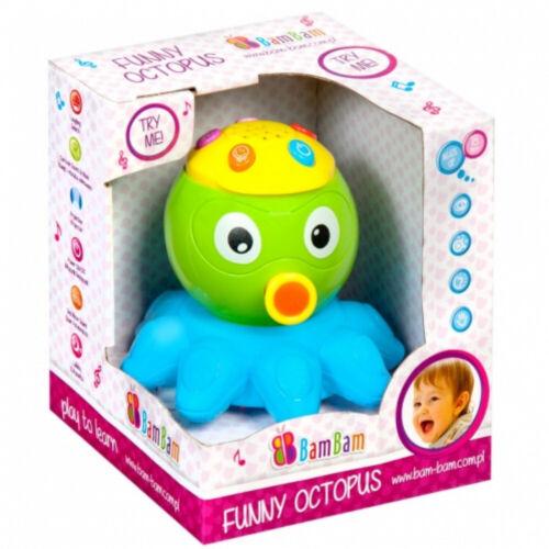 Musikalische Tintenfisch Baby Spielzeug von Bam Bam Funn Octopus Lernspielzeug