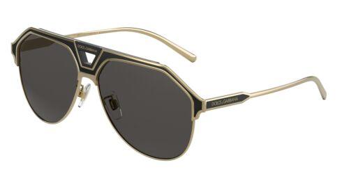 NEW Dolce /& Gabbana 2257 Sunglasses 133487 Gold 100/% AUTHENTIC