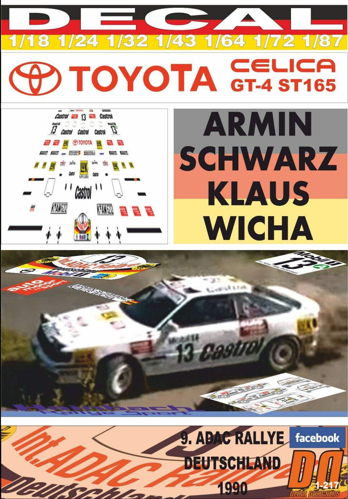DECAL leksakOTA CEICA GT -4 ST165 A.svkonst R.DEUTSCHLAND 1990 -22nd (03)