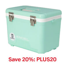 Engel 13 Qt 18 Can Leak Proof Odor Resistant Insulated Cooler Drybox,Code:PLUS20